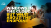 Windows in the cloud, what about the endpoint?
