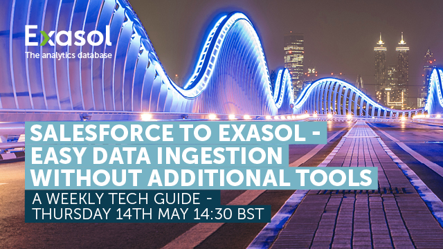 Salesforce to Exasol - Easy data ingestion without additional tools