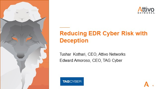 Reducing EDR Cyber Risk with Deception
