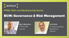 FFIEC Risk and Relationship Series: BCM: Governance & Risk Management