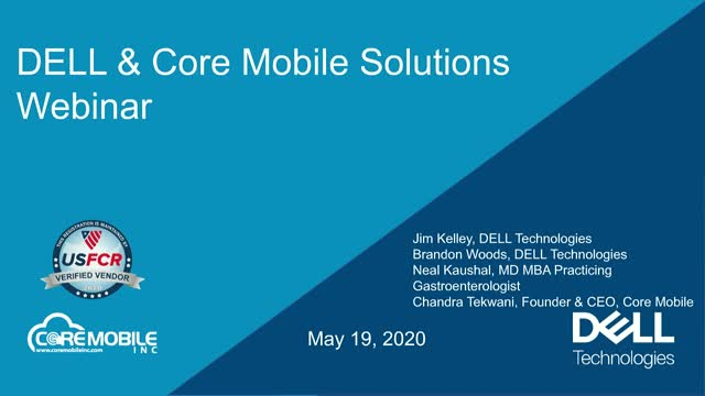 Dell Technologies and Core Mobile Solution to Improve Efficiency in Healthcare