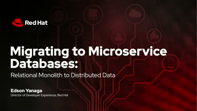 Migrating to Microservice Databases: Relational Monolith to Distributed Data