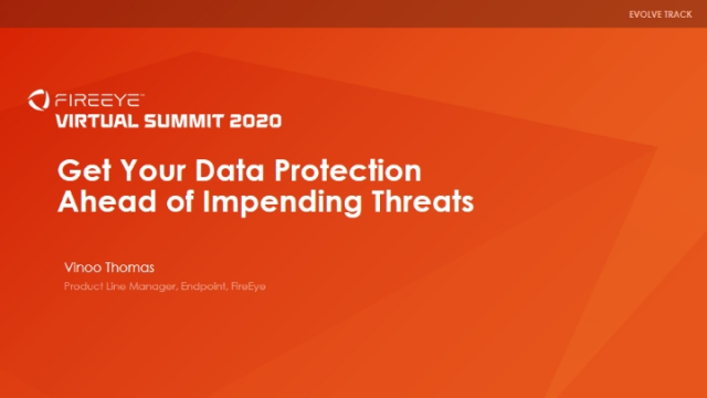 Get Your Data Protection Ahead of Impending Threats