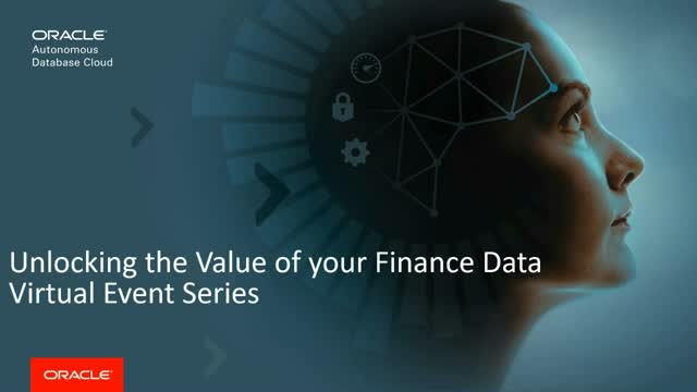 Unlock the Value of Your Finance Data