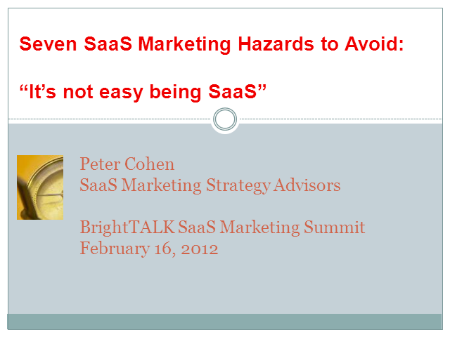 Seven SaaS Marketing Hazards to Avoid