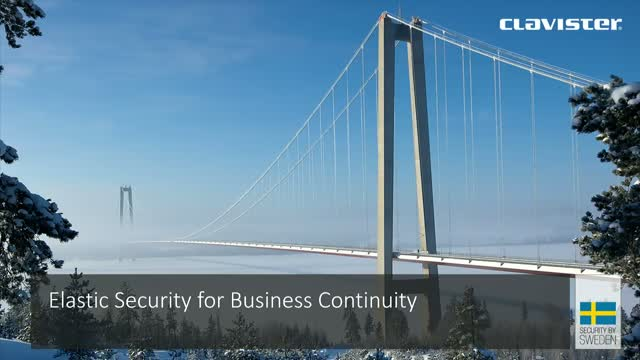 Elastic Security for Business Continuity