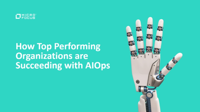 How Top Performing Organizations are Succeeding with AIOps