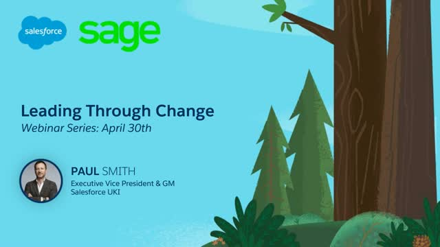Learn how Sage is driving their 12,000+ employees and over 2 million customers f