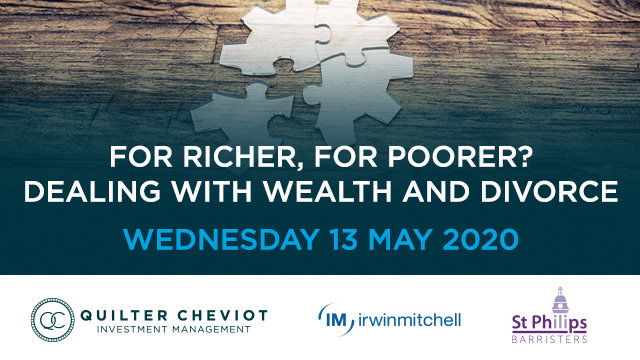 For richer, for poorer? Dealing with wealth and divorce