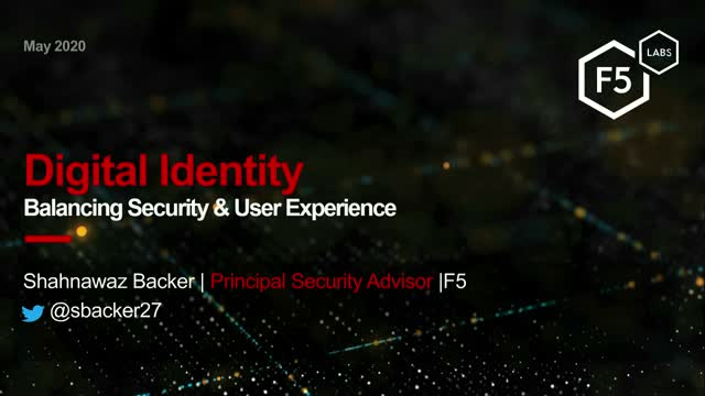 Digital Identity: Balancing Security and User Experience