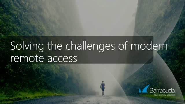 New Gartner report: Solving the Challenges of Modern Remote Access
