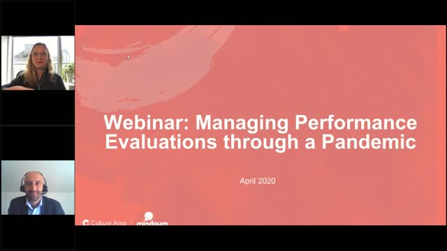 Managing performance evaluations through a pandemic: North America Edition