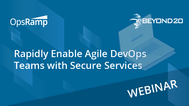 Rapidly Enable Agile DevOps Teams with Secure Services