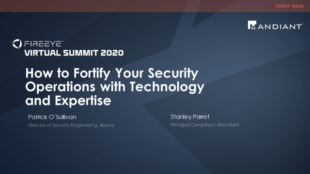 How to Fortify Your Security Operations with Technology and Expertise