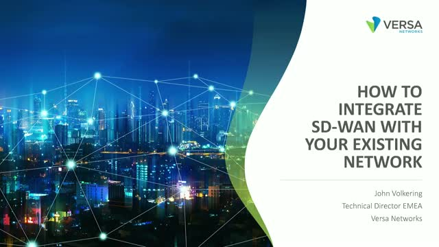 How to Integrate SD-WAN With Your Existing Network