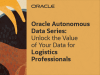 Unlock the Value of Your Data for Logistics Professionals