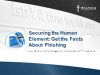 Securing The Human Element:  Get the Facts about Phishing