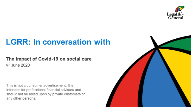 The impact of COVID-19 on social care