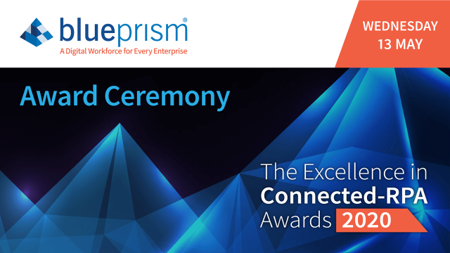 Online Awards Ceremony: The Excellence in Connected-RPA Awards 2020