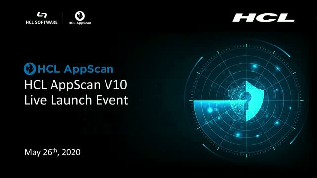HCL AppScan V10 APAC Launch