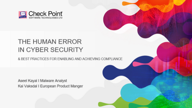 Overcoming the human error in Cyber Security