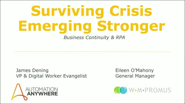 Keep your business running in times of crisis