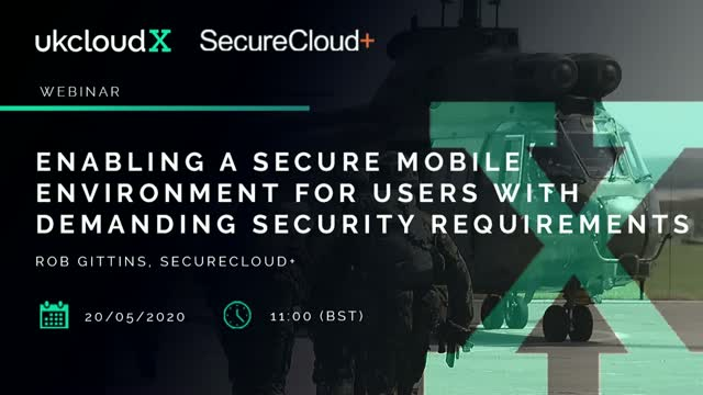 Enabling a secure mobile environment for users with demanding security requireme
