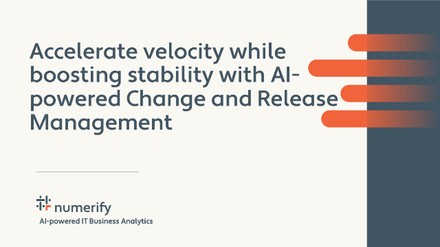 Accelerate velocity & boost stability with AIpowered Change & Release Management