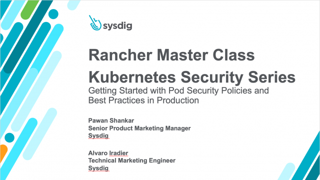 Prevention in Kubernetes: Getting Started with Pod Security Policies