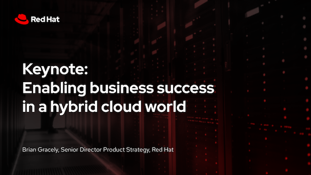 Enabling business success in a hybrid cloud world