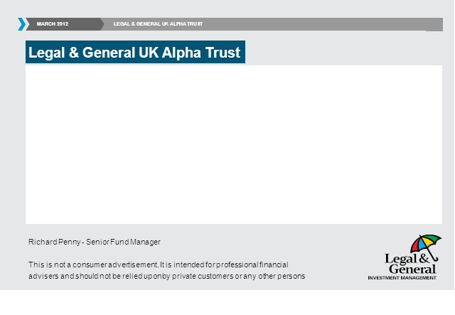 UK Alpha Trust webcast