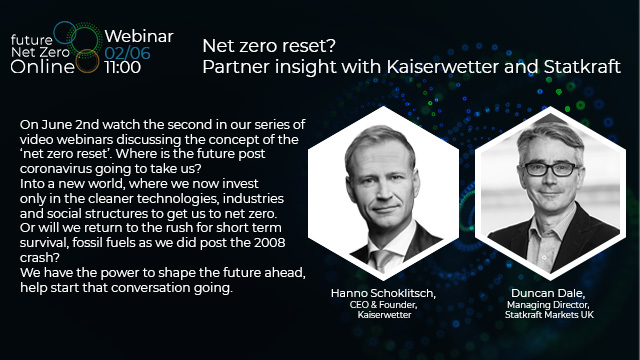 Net zero reset? Partner insight with Kaiserwetter and Statkraft