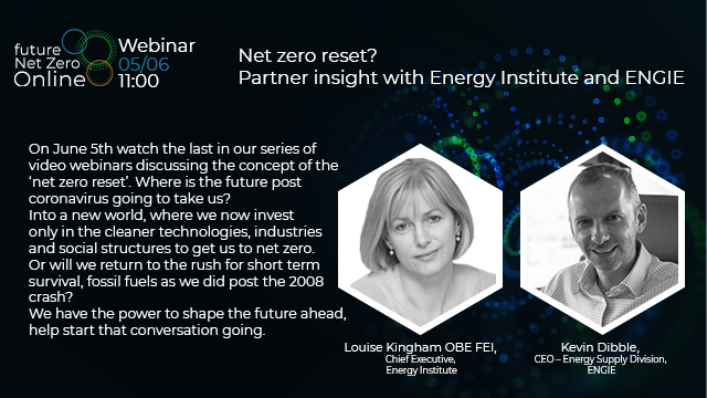 Net zero reset? Partner insight with Energy Institute and ENGIE
