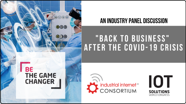 """Industry Discussion: """"Back to Business"""" After the Covid-19 Crisis (Part 2)"""