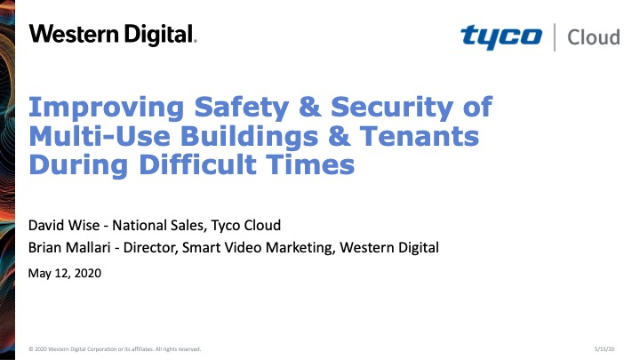 Improving Safety & Security of Multi-Use Buildings & Tenants During Hard Times