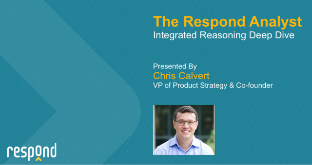 Integrated Reasoning - Reducing Risk and False Positives by 10x