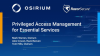 Privileged Access Management (PAM) for the NHS and Essential Services