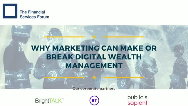 Why marketing can make or break digital wealth management