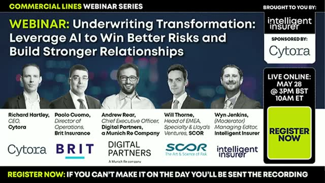 Underwriting Transformation: Leverage AI to Win Better Risks and Relationships
