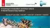 Investing in innovation and blue nature: A World Oceans Day webinar