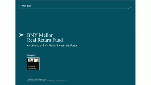 BNY Mellon Real Return Fund update (UK)