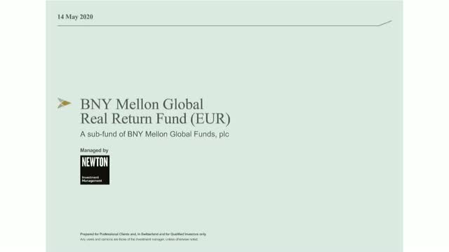 BNY Mellon Global Real Return Fund update (EUR)