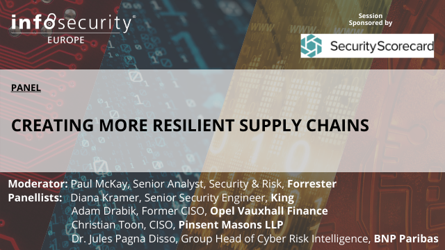 Creating More Resilient Supply Chains