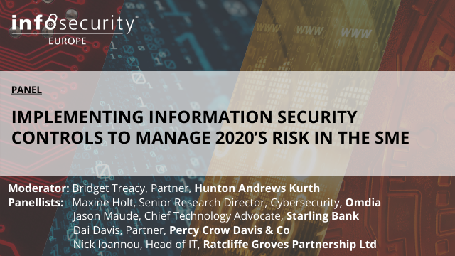 Implementing Information Security Controls to Manage 2020's Risk in the SME