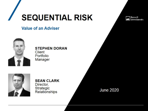 Value of an Adviser: Sequential Risk