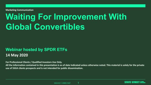 Spring in convertible with SPDR ETFs