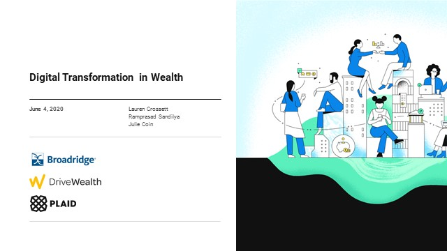 Digital Transformation in Wealth: How to Compete Amid Rapid Change
