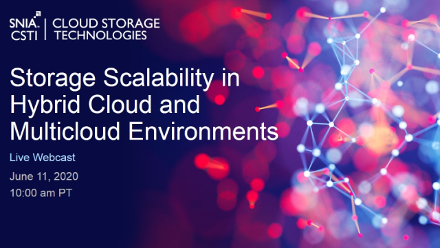 Storage Scalability in Hybrid Cloud and Multicloud Environments