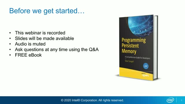 Building Durable Storage Solutions with Intel® Optane™ Persistent Memory