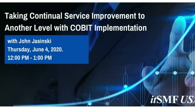 Taking Continual Service Improvement to Another Level with COBIT Implementation